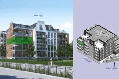 De Hofburgh appartement 11, Ouddorp